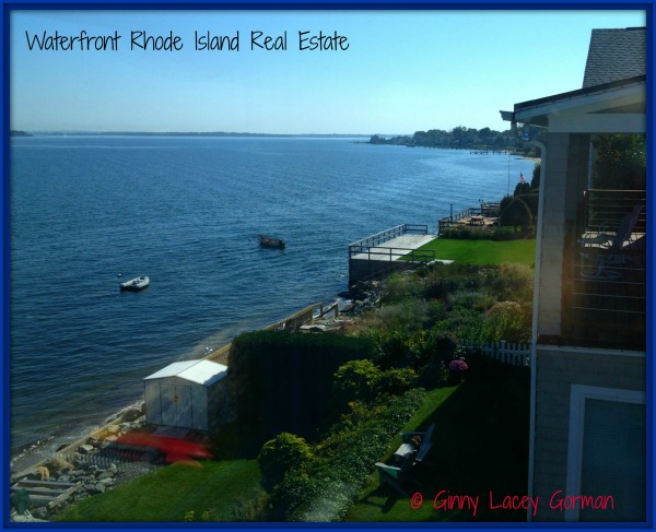 waterfront RI real estate