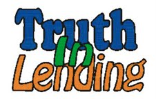 Truth in lending -mortgages ri real estate