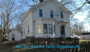 Rehab North Kingstown RI Home for Sale | Pending Home Sale