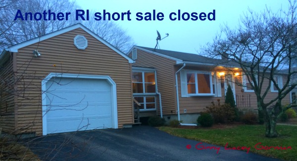 Another RI Short Sale Closed with Full Deficiency Waiver