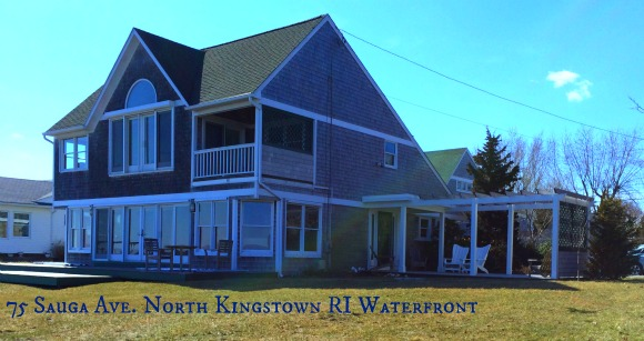 Waterfront North Kingstown RI Home | 75 Sauga Ave | Sneak Peek