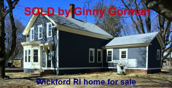 Wickford RI Colonial Home Sold