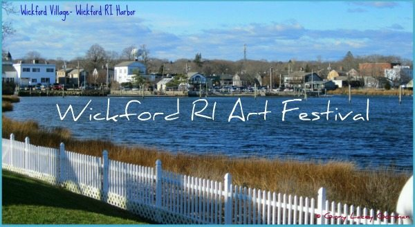 2014 Wickford RI Art Festival July 15-16