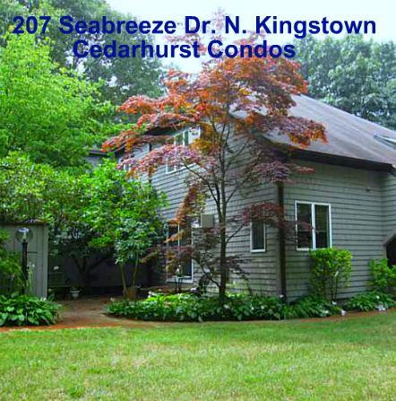 North Kingstown RI Cedarhurst Condo Coming to Market   207 Seabreeze Drive