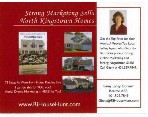 Strong Marketing Skills Sells North Kingstown Homes Again