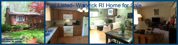 Warwick RI Renovated Ranch for Sale | 215 Cumberland Rd