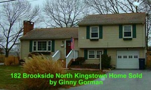 Sold North Kingstown RI Home   182 Brookside Dr