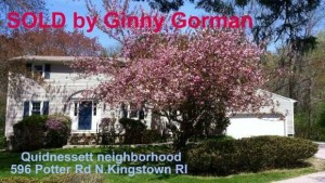 Quidnessett Home Sold | 596 Potter Rd North Kingstown RI