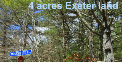 Exeter RI Land for Sale | 4 Acres |Widow Sweets Rd