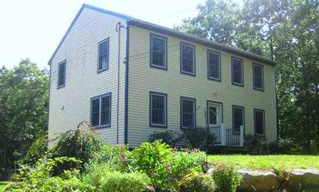 Hopkinton RI Colonial Home for Sale 171 Stubtown Road Acreage
