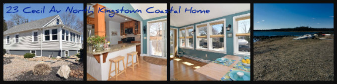 North Kingstown Coastal Renovated Home for Sale 23 Cecil Ave