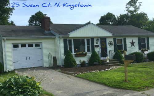North Kingstown Ranch Home for Sale 25 Susan Court