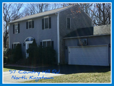 Colonial N.Kingstown RI Home for Sale