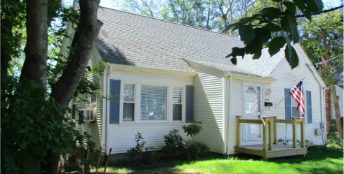 Coventry RI Updated Cape Cod Home Sold 1052 Main Street