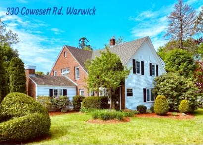 4 Bedroom Warwick RI Cowesett Home for Sale